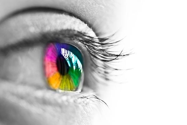 Olhos de diferentes cores