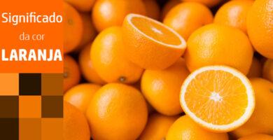 Significado da cor de laranja